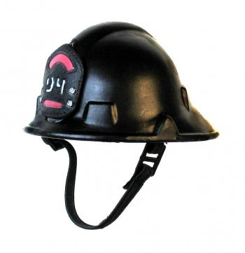 Firemans helmet ( black)