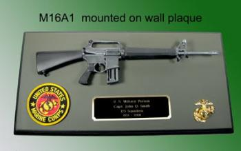 M16A1 the original wall plaque