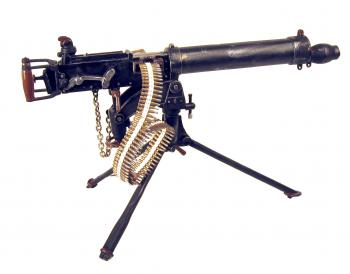 British WW1 Vickers machine gun