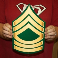 US Army Master sergeant rank