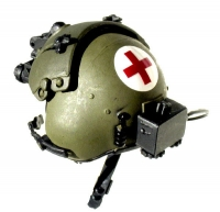 Dust Off Helicopter pilot helmet
