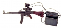 German MP-44V w/night scope and IR scope with battery pack