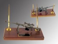 U.S.Coast Guard 50 cal Barrett rifle desk set