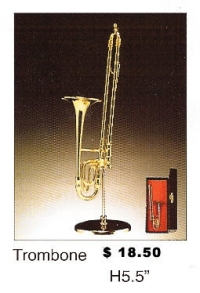 Miniature Musical Instruments - Trombone