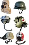 Miniature Helmets & Displays