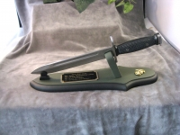 M-16 bayonet on board as letter opener style C