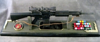 AR-10 sniper rifle 1/3 scale