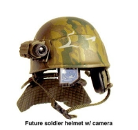 Future Warrior helmet sys