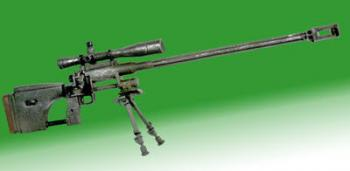 50 cal sniper rifle with bipod