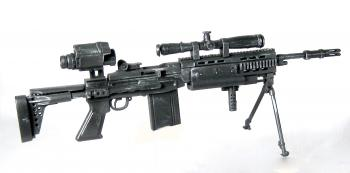 U.S. MK-14 special MOD battle rifle