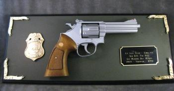 Award #57 Magnum on plaque
