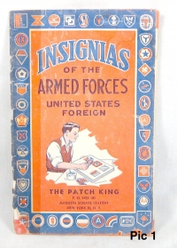 Insignia book of the Armed forces ww1