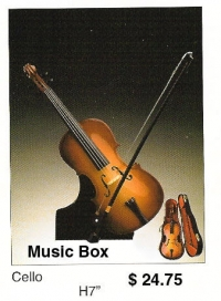 miniature Cello ( Music box )