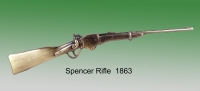 Spencer Rifle of 1863 brass