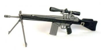G3A3 Assult Rifle w/ scope