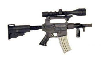 U.S. M-4 Short Barrel w/ scope