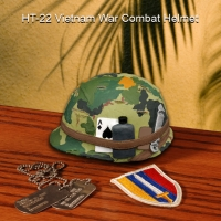 Viet Nam era G.I. helmet in 1/4 scale
