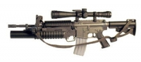 M-4 with M203 launcher and Mil Spec scope