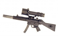 MP5 With Medicom scope (G3 Claw mount )