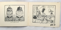 collectable WW1 British cartoon book 1914