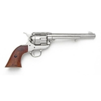 M1873 Cavalry revolver nickle finish