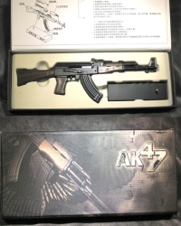 1/3 scale AK-47 solid stock