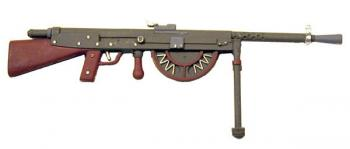French Chauchat machine gun WW1