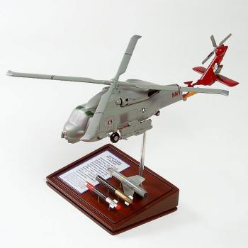 SH-60B Seahawk helicopter with bombs USN