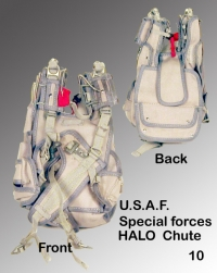 USAF HALO spec forces parachute