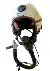 USAF Korean War pilot helmet