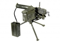 30 cal water cooled machine gun with water tank