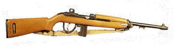 U.S. M1 carbine rifle