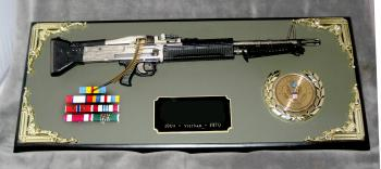Award 1/3 scale M60 machine gun all metal