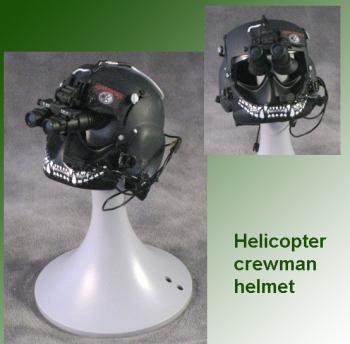 HELICOPTER HELMET MONSTER TEETH STYLE 1