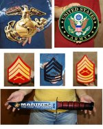 Military metal Signs & D