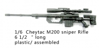 Cheytac M200 sniper rifle 1/6 scale