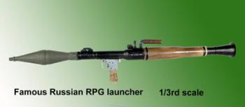 1/3 rd scale RPG Launcher