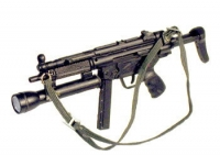 MP5-40 With bottom mounted mag light