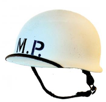 MP (Military Police) frosted white