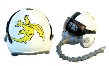 "USN ""Golden Dragons"" pilot helmet"