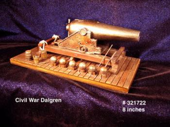 "Cannon "" Civil War Dalgren """