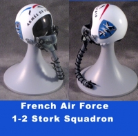 1/6th French Air Force helmet 1--2 Stork Sq
