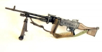 British FN-GPMC Machine Gun