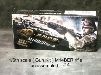 1/6 M14-BER rifle plastic kit
