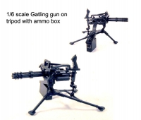 mini gatling gun on tri pod