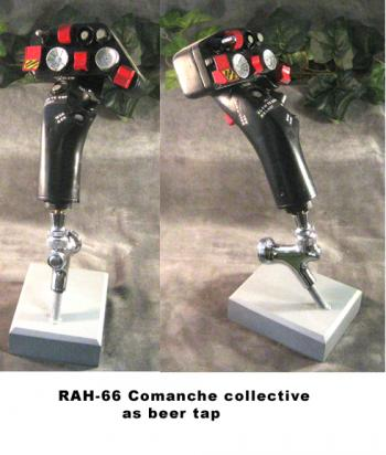 RAH-66 Commanche Stick grip as beer tap