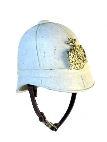 1879 helmet white with emblem