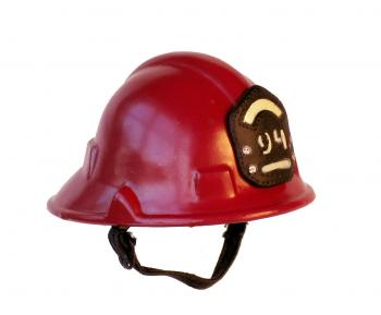 Firemans helmet ( Red )