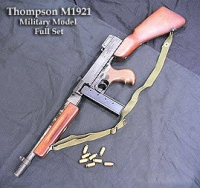 U.S. M1921 Thompson SMG Military style