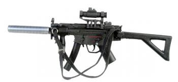 MP5K PDW with silencer